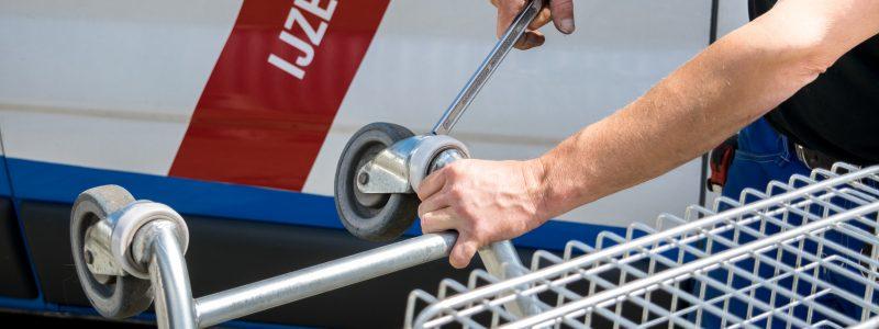Winkelwagen onderhoud