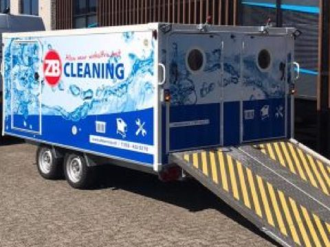 ZB Cleaning wagen